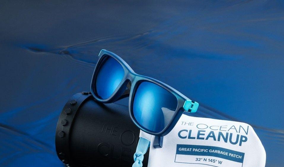 Arrivano gli occhiali da sole in plastica recuperata dagli oceani