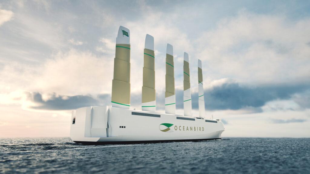 È nel vento la rivoluzione dello shipping: arriva l'enorme cargo a vela OceanBird