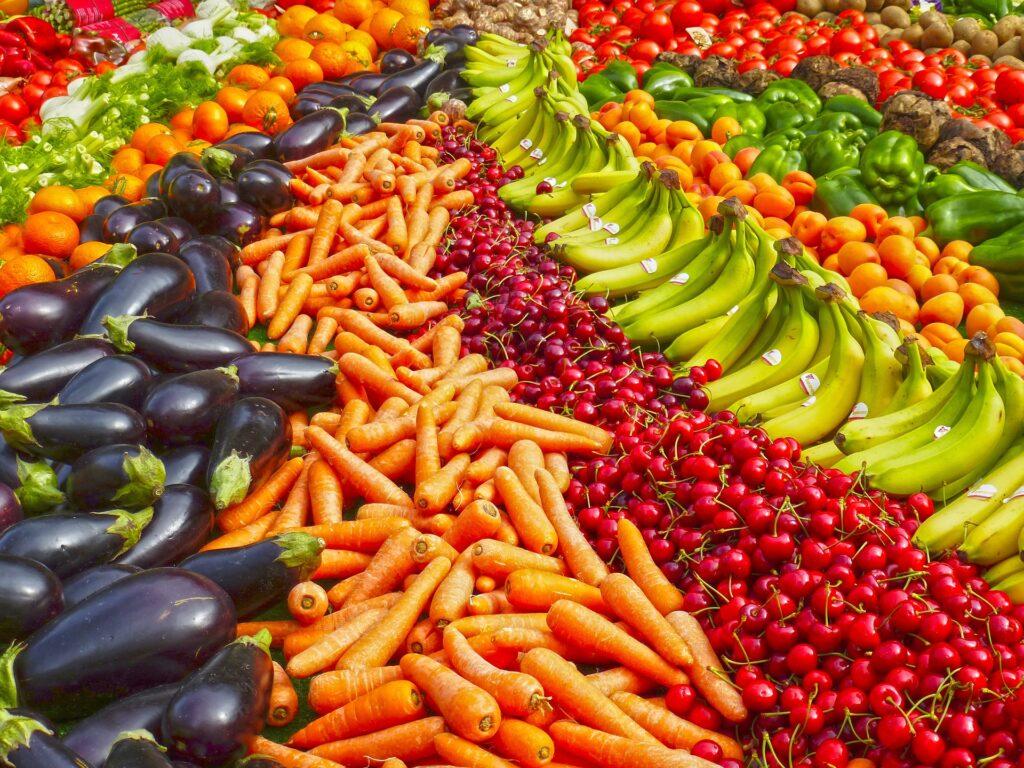 Frutta e verdura, protagoniste del 2021