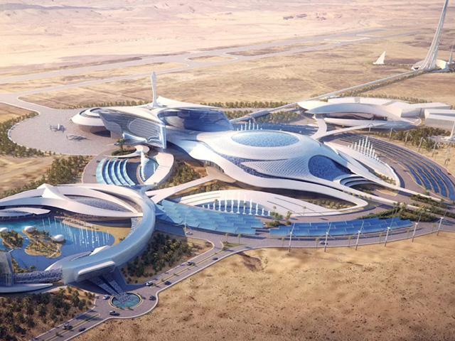 """Una città senza strade e senza macchine: è il progetto futuristico """"THE LINE"""""""