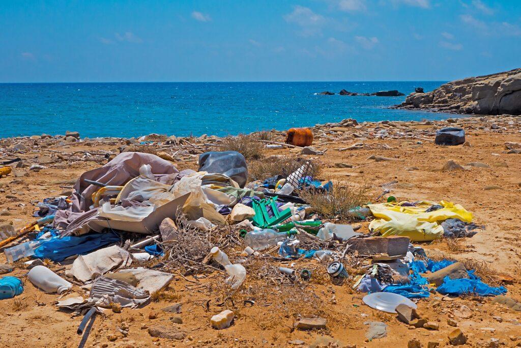 Microplastiche in mare: a rischio la vita dei piccoli organismi marini