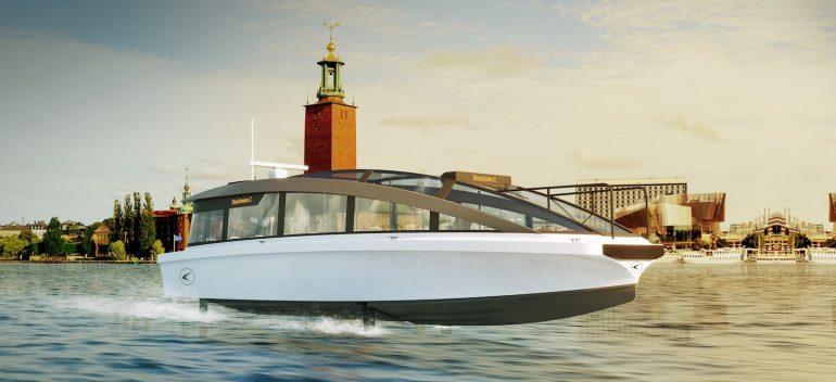 La prima nave passeggeri elettrica al mondo navigherà a Stoccolma nel 2023