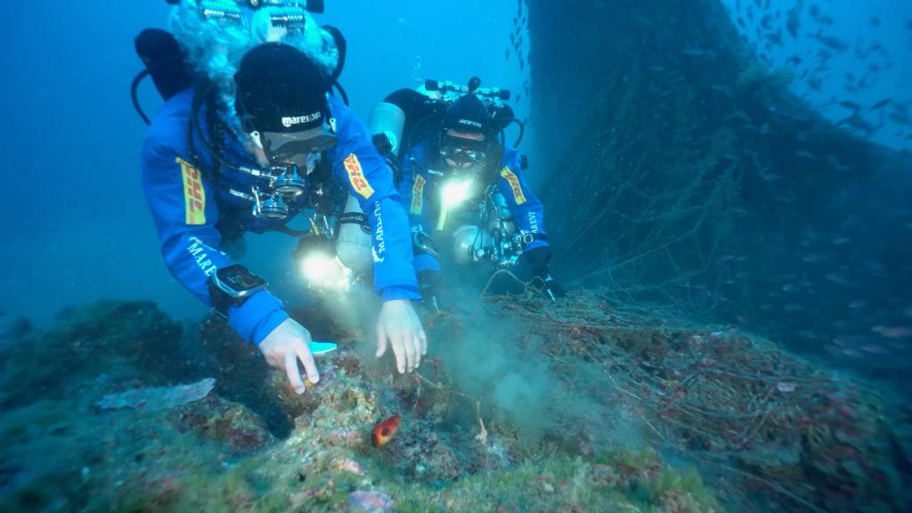 Reti da pesca abbandonate: 3000 metri recuperati in Sicilia