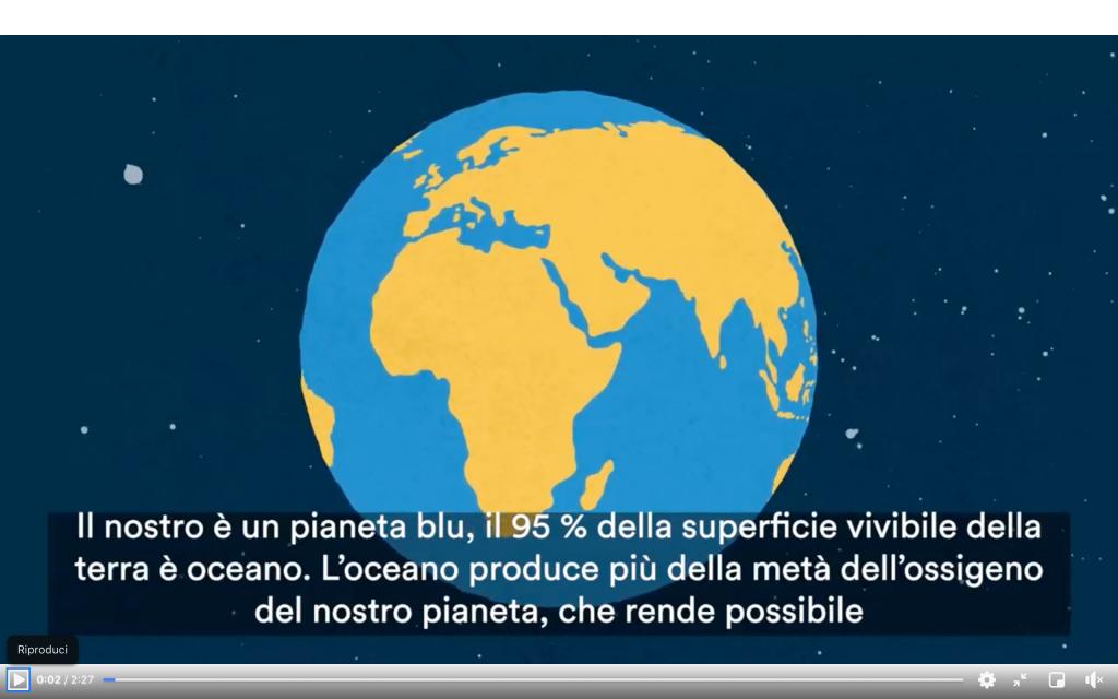 Un unico grande oceano: il video