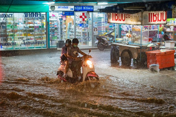 Cambiamento climatico e alluvioni